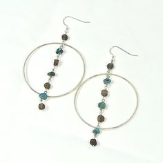 Smokey quartz symbolizes hope. Feel inspired to dream big when you wear these earrings.
