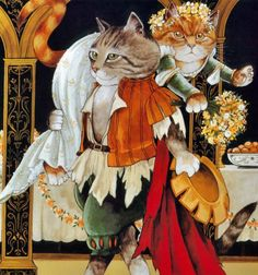 Shakespeare Cats by Susan Herbert: The taming of the Shrew