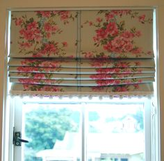 Roman blind tutorial. Perfect to replace the incredibly ugly RV ones!