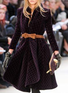 Burberry Fall 2012 | Keep the Glamour | BeStayBeautiful