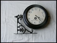John Deere Clock Double Sided for sale by Mecum Auction