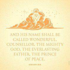 | Isaiah 9:6