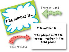 2nd Grade Pad: A Place Value Game with a Twist  A FREEBIE