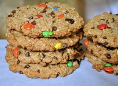 Monster Cookies from justataste.com #recipe
