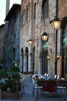 San Gimignano, Italy Siena Tuscany