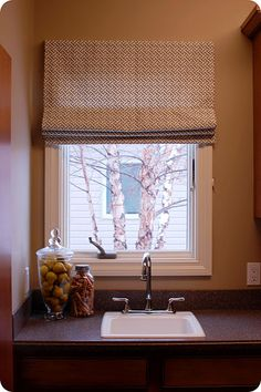 How-to Sew a Roman Blind.