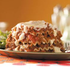 Fiesta Lasagna Recipe from Taste of Home