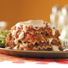 Fiesta Lasagna Recipe from Taste of Home