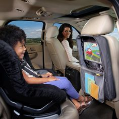 i-Hide™ Car Seat Organizer with Tablet Viewer