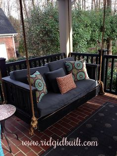 Custom built Daybed Swings , Farm Tables and More