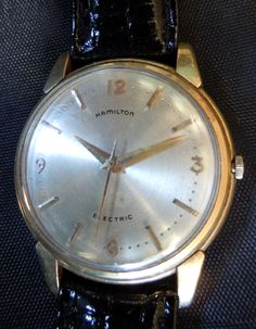 Hamilton Electric Watches for Sale by René Rondeau - Uranus