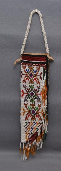 Sioux beaded knife sheath