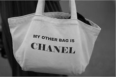 Chanel, of course