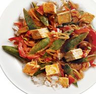 thai red curry with tofu amp vegetables had this last night and it was ...