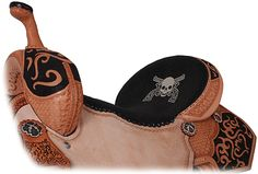 u know we all see the tack that is blinged out and pink and ainbow and stuff, but this saddle...is...AWESOME!!!!!!
