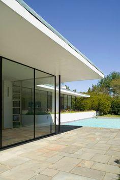 MODERN COUNTRY ESCAPE: A. Conger Goodyear House. 12/26/2011 via @Tyler Goodro plastolux
