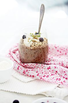 Blueberry, Banana and Coconut Smoothie. We suggest Unsweetened Vanilla Almond Breeze!