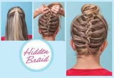 makeup, long hair, braids, hidden braid, hair style, braid tutori, runner hairstyles