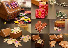 Gingerbread Sensory Bin
