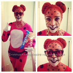 Cool Homemade Halloween Costume Idea: Chester the Cheetos Cheetah… Enter the Coolest Halloween Costume Contest at http://ideas.coolest-homemade-costumes.com/submit/