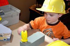 Activity ideas for construction party