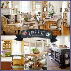Take Five:  Country Cottage French