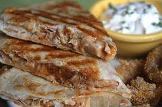 Lauren's Kitchen: Barbequed Chicken and Pineapple Quesadillas