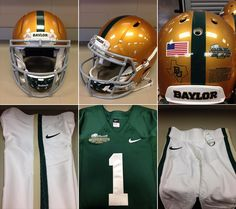 #Baylor football will wear these 1950 throwback uniforms for the Floyd Casey finale vs. Texas. #SicEm #CaseClosed