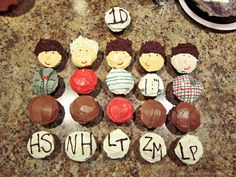 one direction cupcakes.