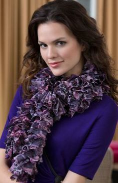 Into the Wild Scarf Free Knitting Pattern from Red Heart Yarns