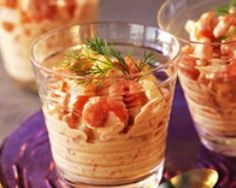 Cocktail de crevettes et saumon (facile, rapide) - Une recette CuisineAZ