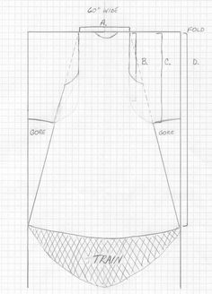 Sideless Surcote Pattern