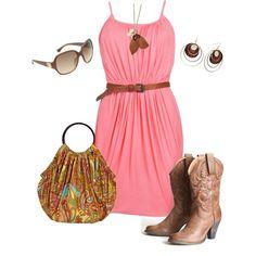 concert outfits, cowboy boots, purs, style, bag, dresses, the dress, pinterest closet