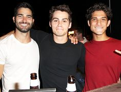 The Teen Wolf boys are super adorable.