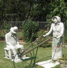 cement sculptur, concret sculptur, concret idea, dream garden, hypertufa sculptur, concret art, sculpture art, mosaic art, becki christenson