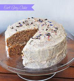 Tea Recipe: Earl Grey Cake
