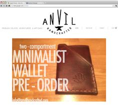 Anvil | Handcrafted Leather Accessories