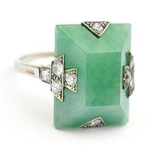 Boucheron Art Deco ring
