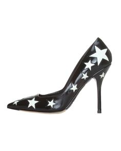 Dolce & Gabbana Genuine Leather Star Pumps- Made in Italy - Sales Events - Modnique.com