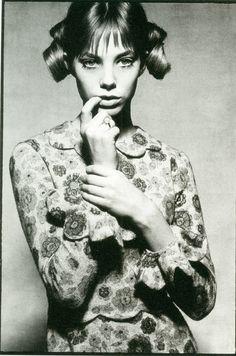 Jane Birkin by David Bailey, 1964
