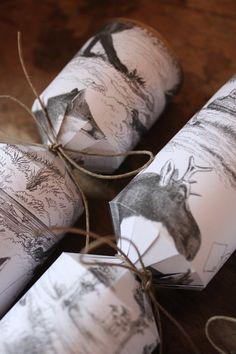 Homemade Christmas Crackers - Great Tutorial & Blog!!