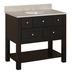 vanity from lowes