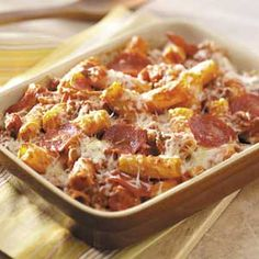 Rigatoni Bake Recipe