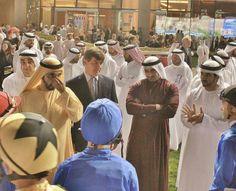 Mohammed RSM, Rashid and Hamdan MRM (31/03/2012) Photo: Abdulrahman Al Mulla