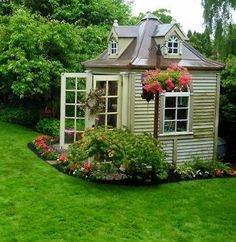 cool garden shed