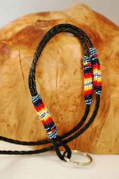 Navajo – Multi-Colored Beaded Lanyard by Gerald Benally