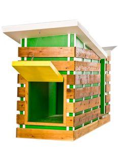 Colorful Modern Dog House | DIYNetwork.com