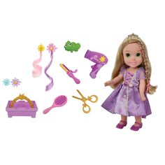 """Disney Toddler Hair Play Set- Rapunzel - Tolly Tots - Toys """"R"""" Us - DONE"""