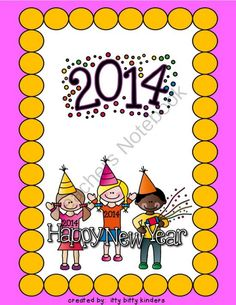 Ano Nuevo: Actividades from ittybittykinders on TeachersNotebook.com -  (4 pages)  - Enjoy this New Year Freebie!