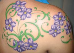 tattoo flower ideas on pinterest. Black Bedroom Furniture Sets. Home Design Ideas